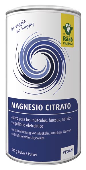 Citrat de magnesi de RAAB Vitalfood