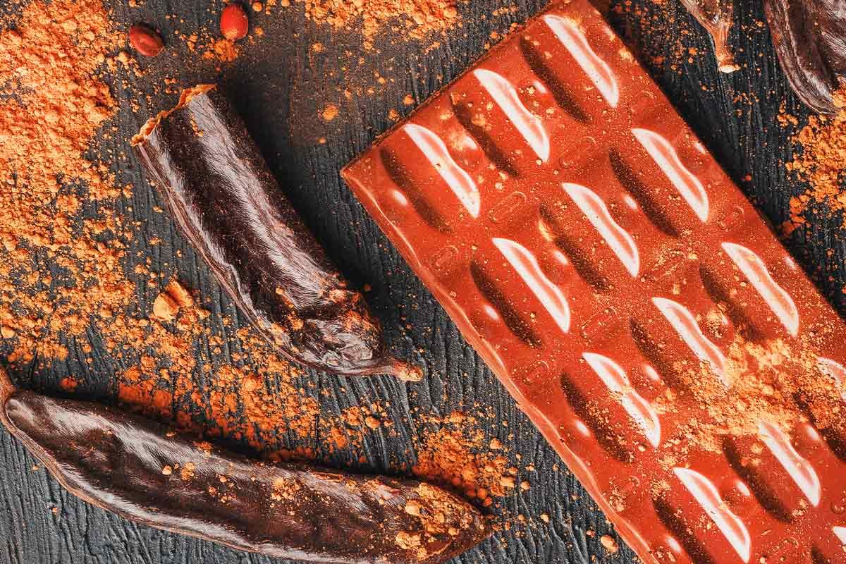 Farina de garrova versus cacau