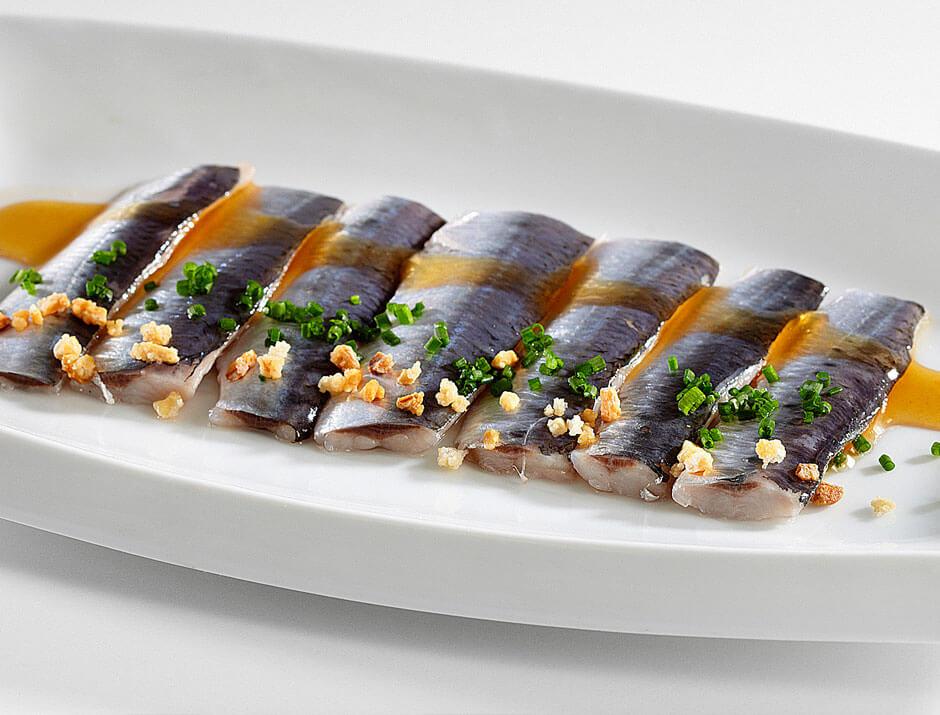 Les sardines en escabetx