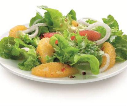Amanida hortalisses i fruites Lékué