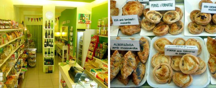"""Imatges de l'interior de la botiga i les delicioses """"empanades"""""""