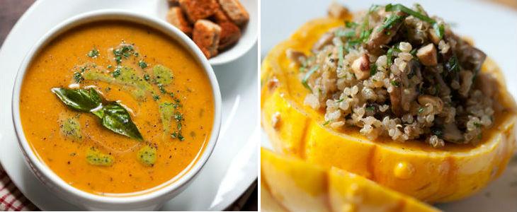 La carbassa és molt nutritiva i permet gran varietat de preparacions. Receptes de Montse Vallory. Fotos de Pau Esculies
