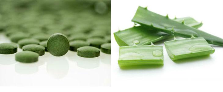 L'alga clorel·la i l'aloe vera són per Wolfe els superaliments més detox