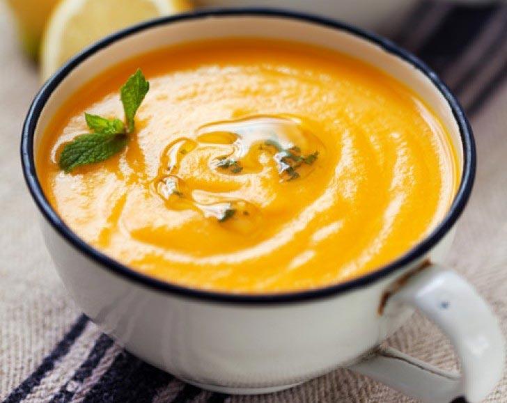 Crema freda de pastanaga