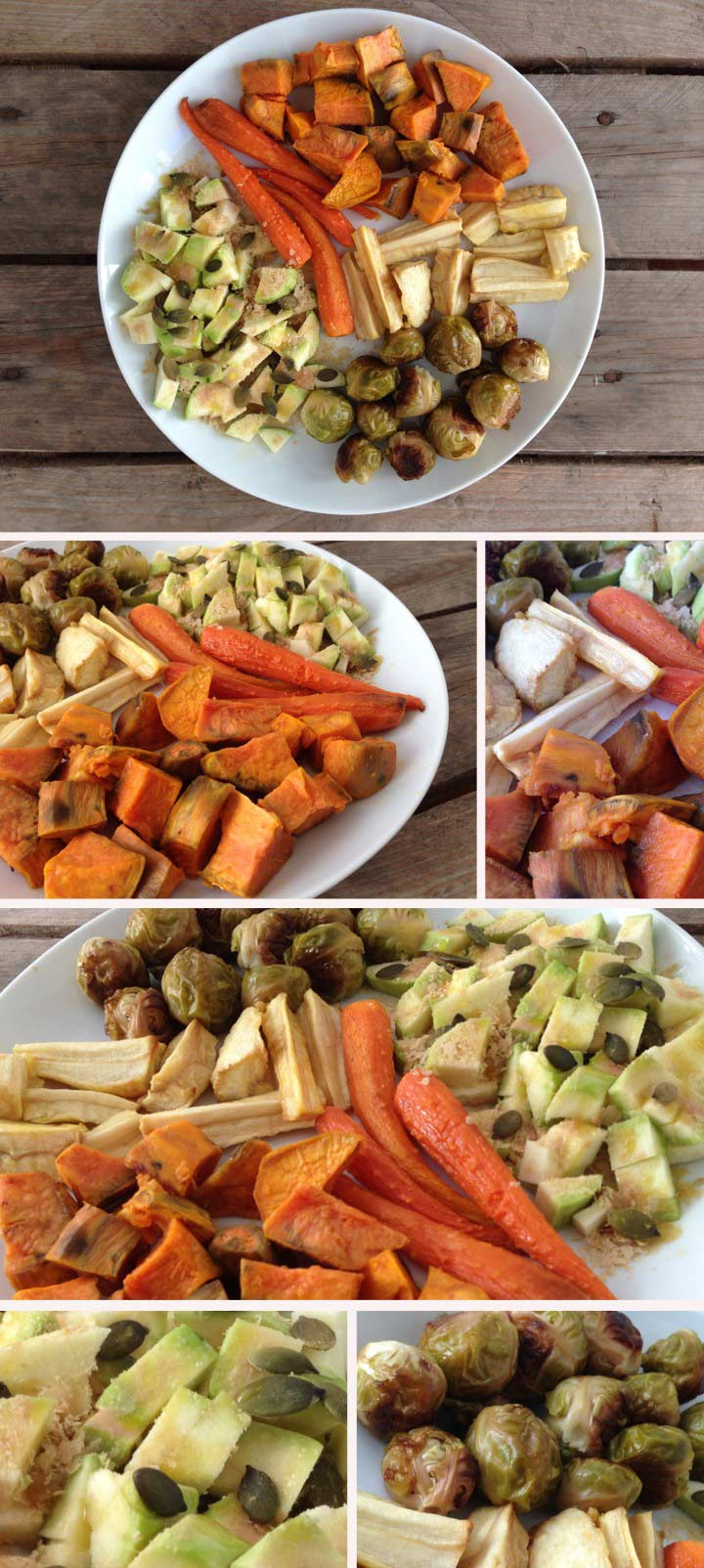 Ingredients verdures al forn