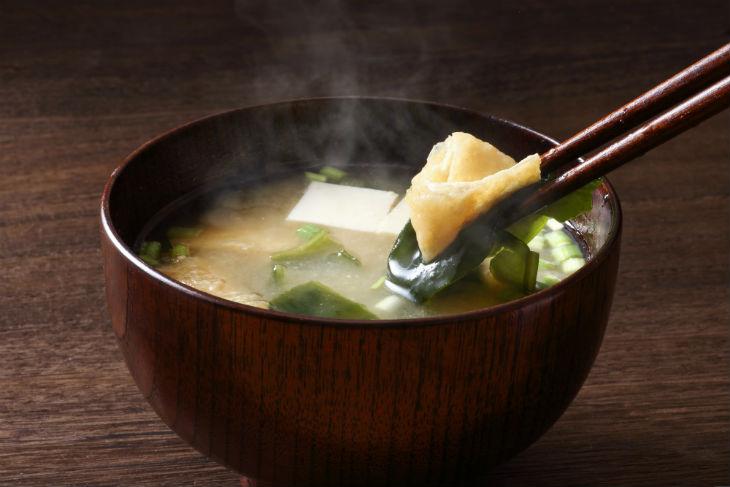 Sopa de miso amb alga wakame
