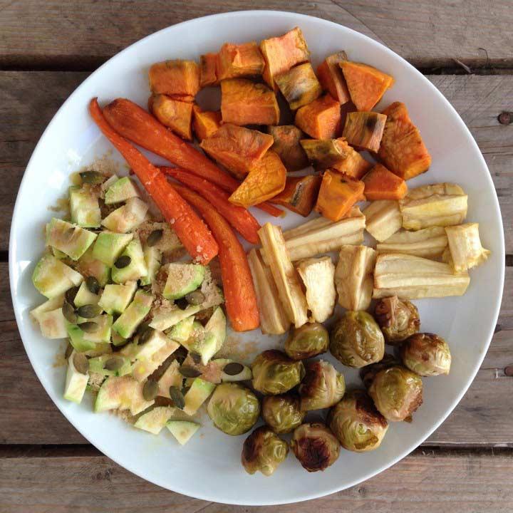 Verdures al forn