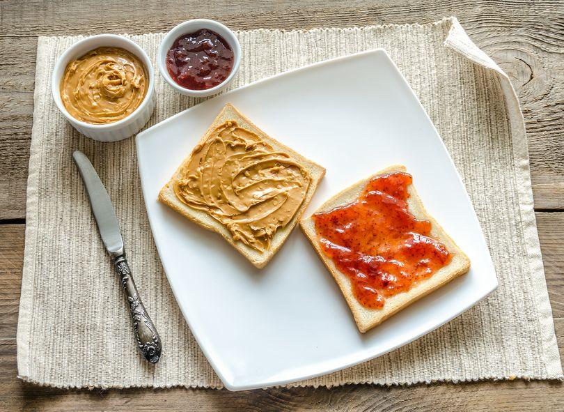 desayuno crema cacauete