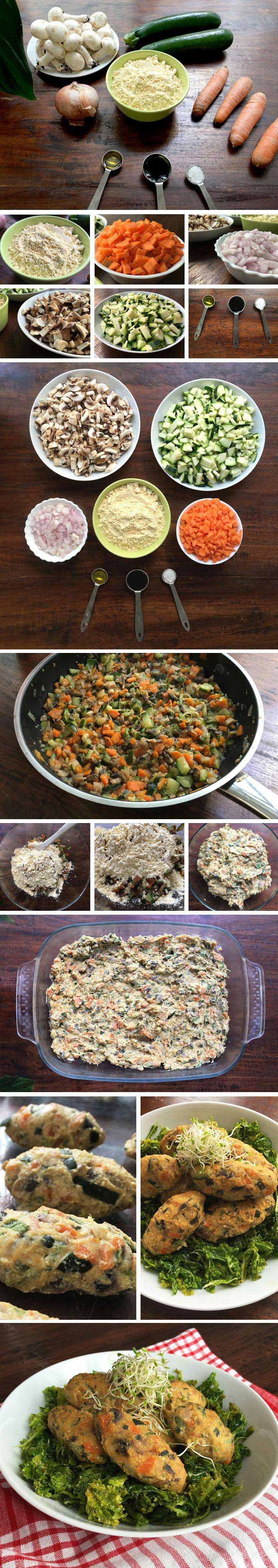 ingredients i elaboració croquetes de verdures