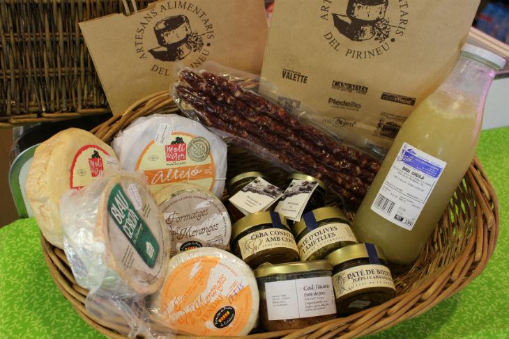 Productes d'artesans alimentaris del Pirineu-730