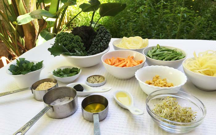 Ingredients patat i mongeta versionada