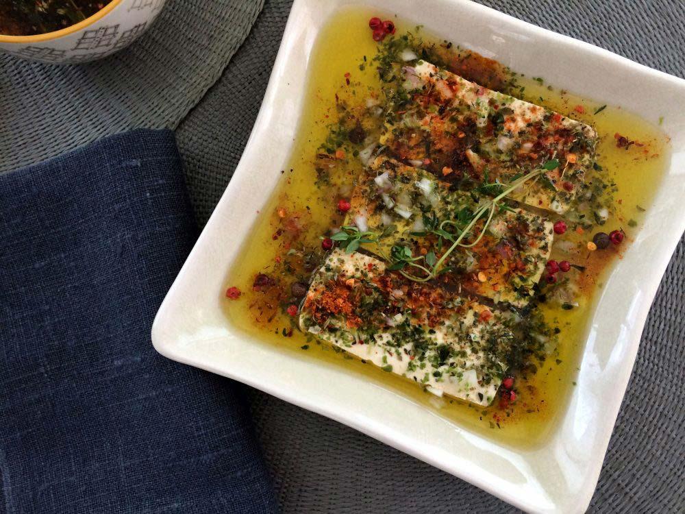 Tofu macerat