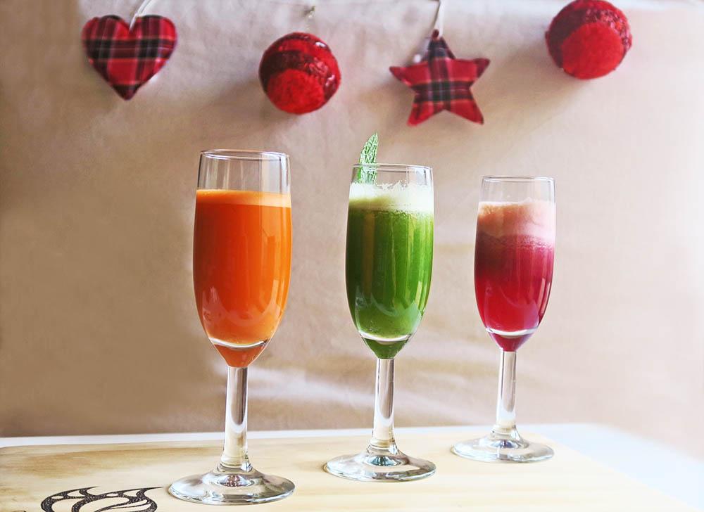 Aperitius saludables per Nadal liquats digestius