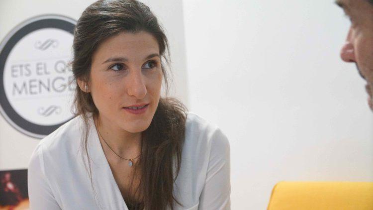 La farmacèutica Mireia Segarra a la Consulta d'Etselquemenges