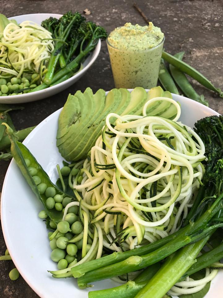 Sopar verd x 2