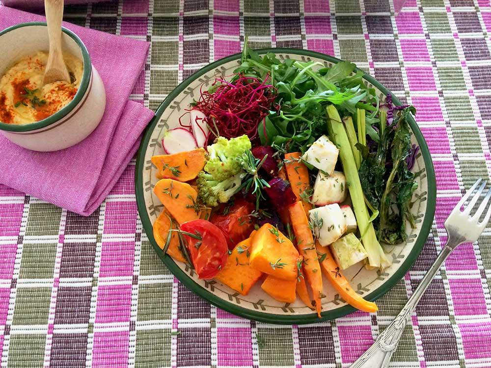 Verdures de tots colors i textures