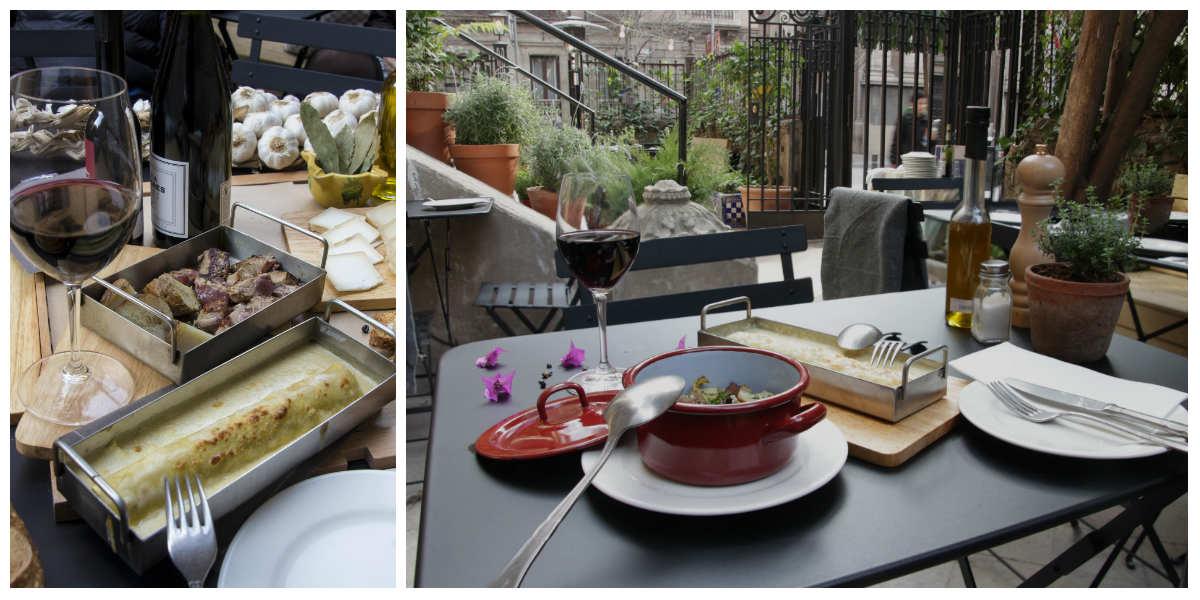 El Mercader de l'Eixample, cuina local i orgànica al centre de Barcelona