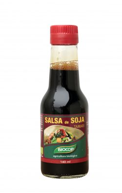 La salsa de soja, el condiment