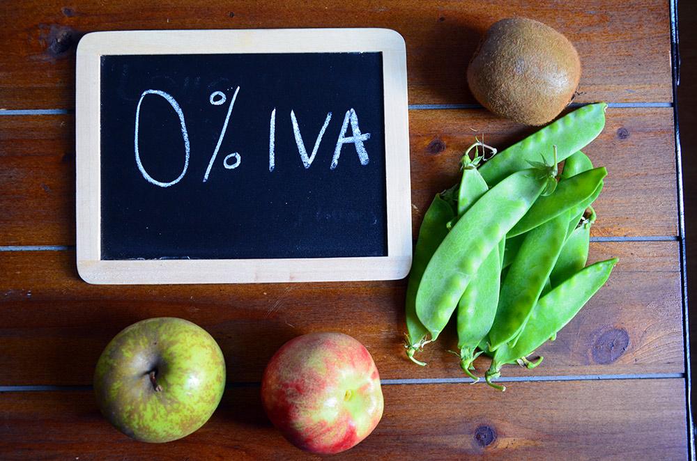 Eliminem l'IVA dels aliments saludables?