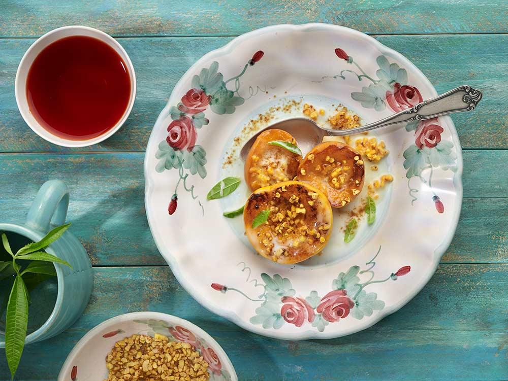 Recepta de préssecs i nectarines a la brasa per Adriana Ortemberg