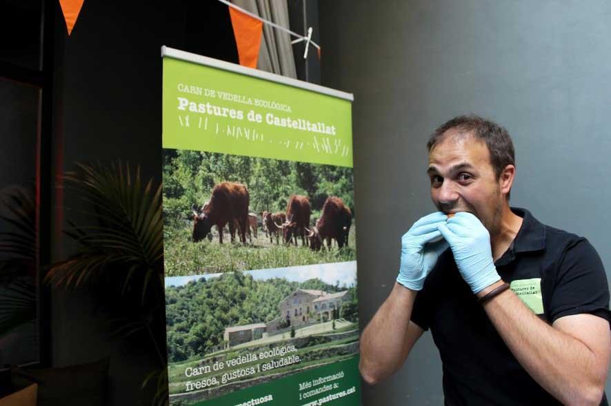 Pastures de Castelltallat: carn ecològica directa a la ciutat