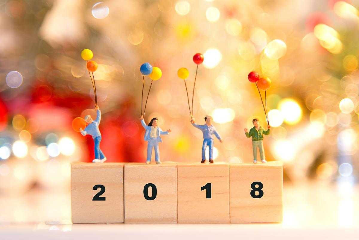 Calendari anual amb 12 propòsits healthy