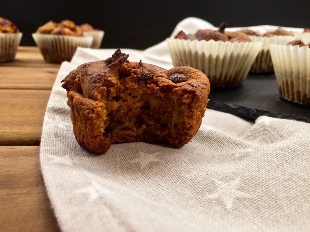 Recepta de muffins de xufa i moniato amb xocolata per Cristina Manyer