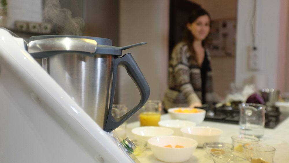 """Gina Estapé, dietista integrativa, especialista en cuina saludable i conductora del curs """"Cuina sana amb robot"""""""