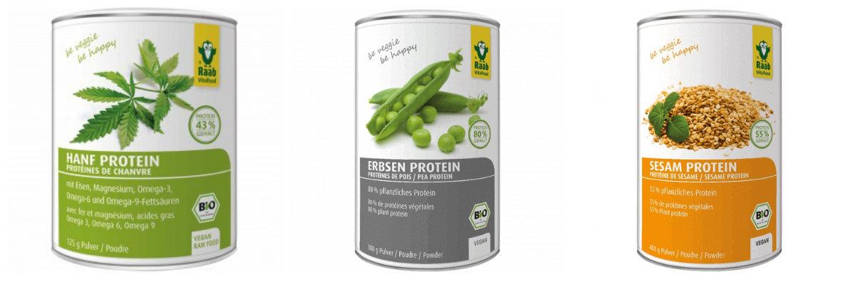Proteïnes vegetals en pols
