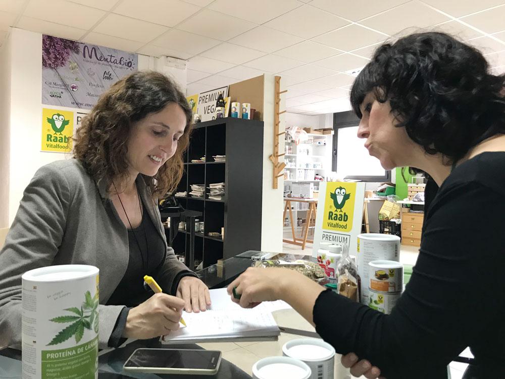 Olga Casabayó, Departament Comercial Espanya de Raab Vitalfood