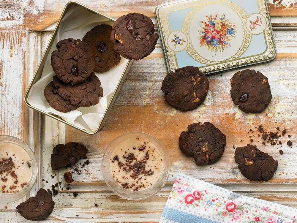 Recepta de galetes de xocolata per Adriana Ortemberg
