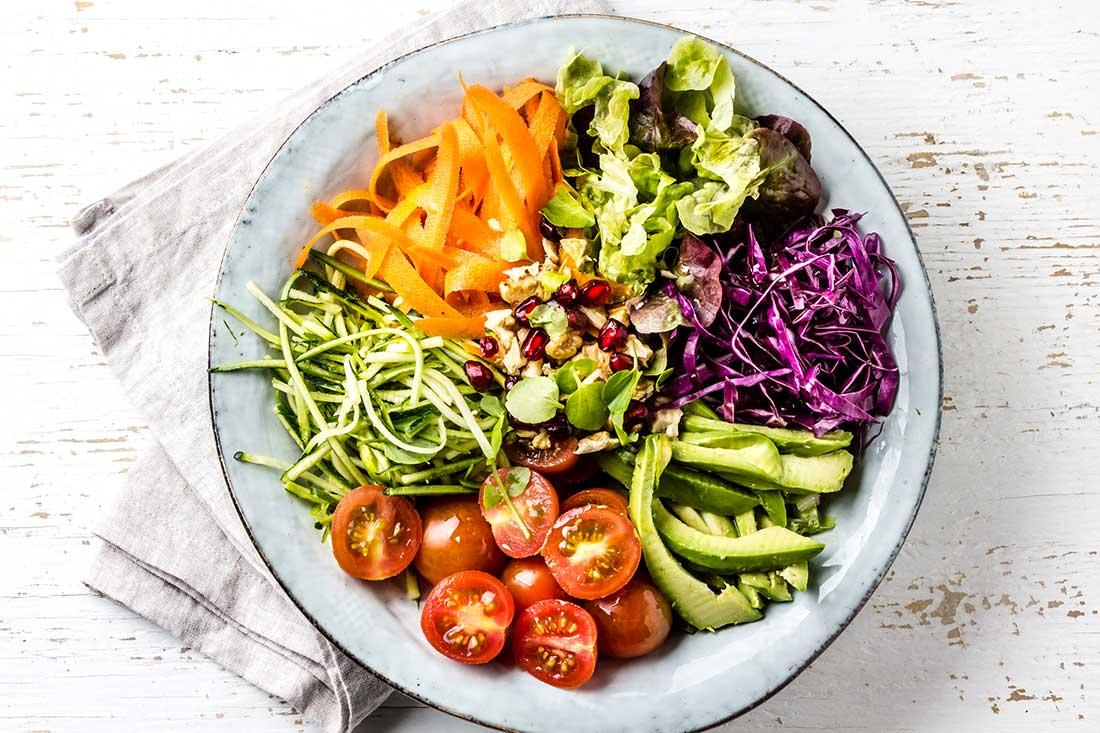 Verdures de tots colors