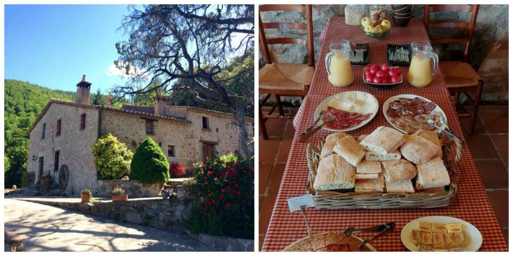 Sortegem 1 nit amb esmorzar per a dues persones a la masia El Buxaus
