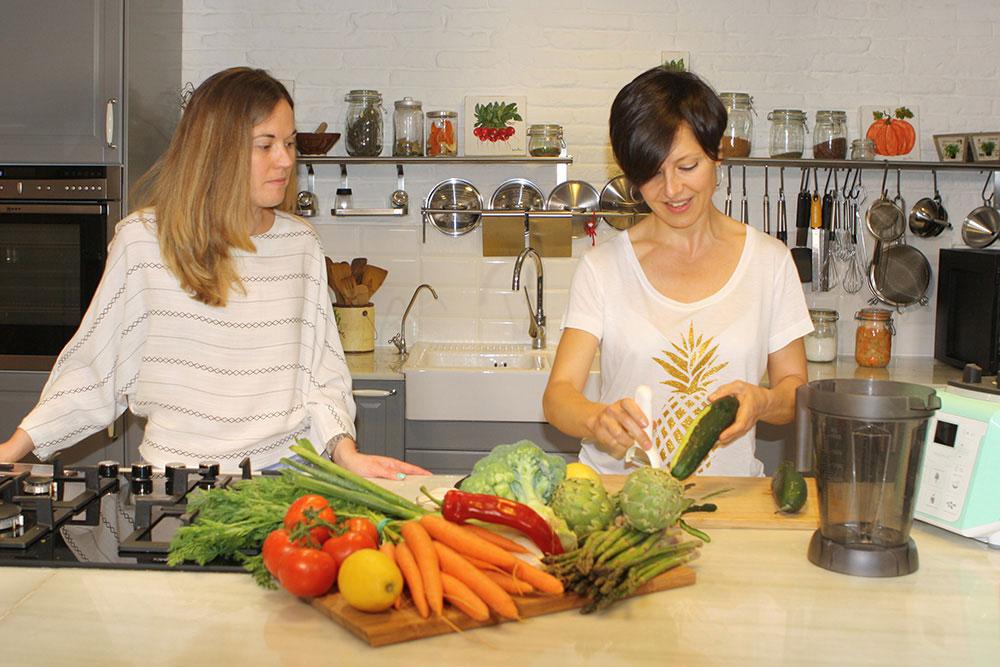 """Cristina Manyer, xef, coach i conductora del curs en línia """"I love verdura"""""""
