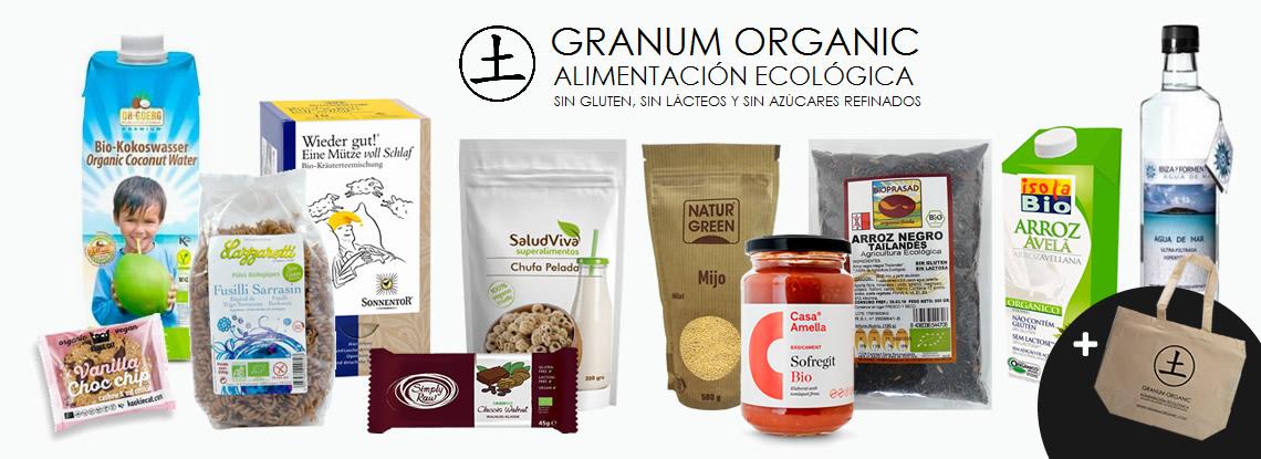 Sortegem 1 lot de productes de Granum Organic
