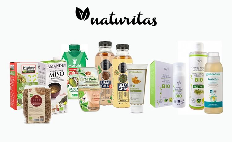 Sortegem 1 lot de productes de Naturitas