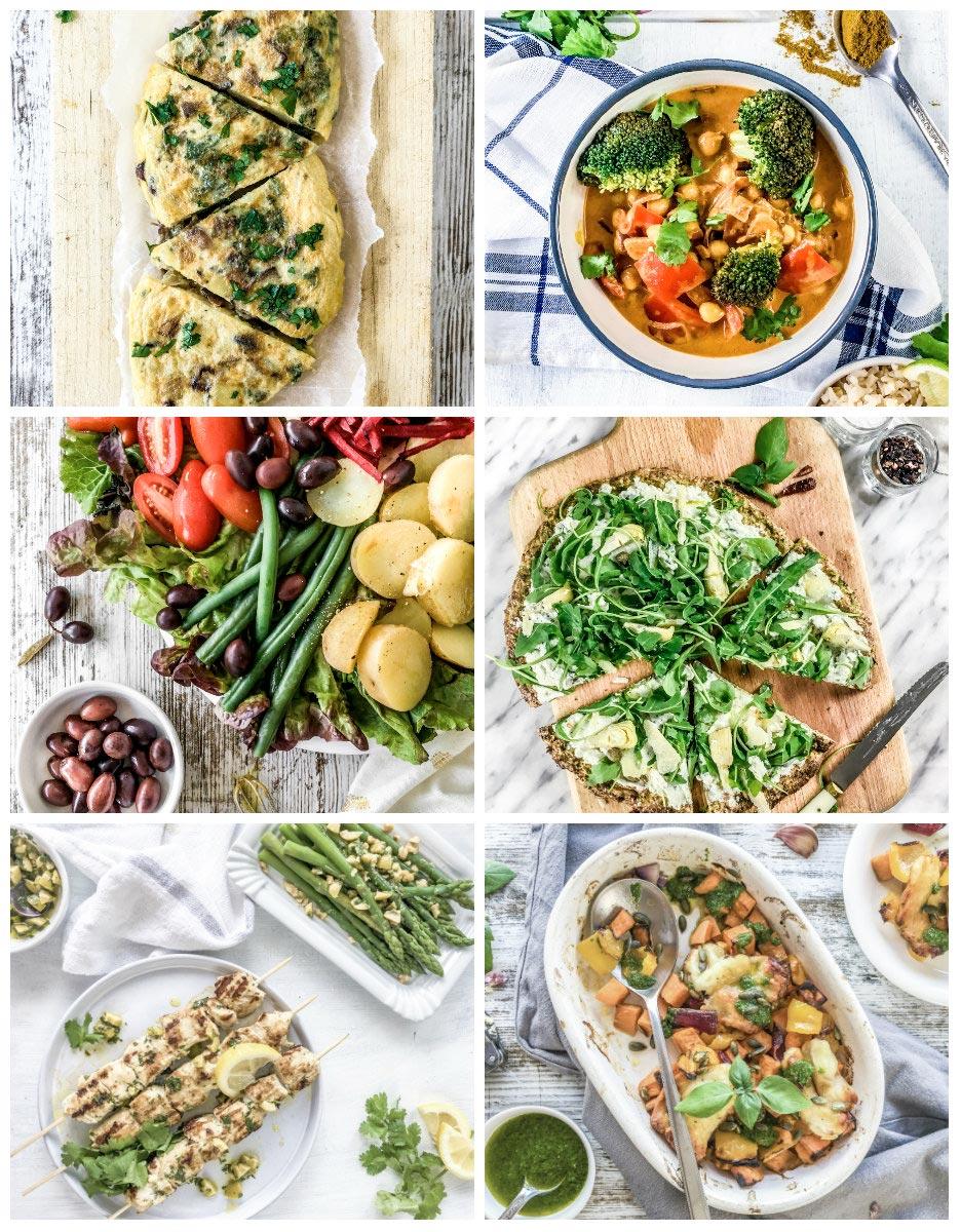 Curso online Cenas Fáciles y Sanas Vegetarianas