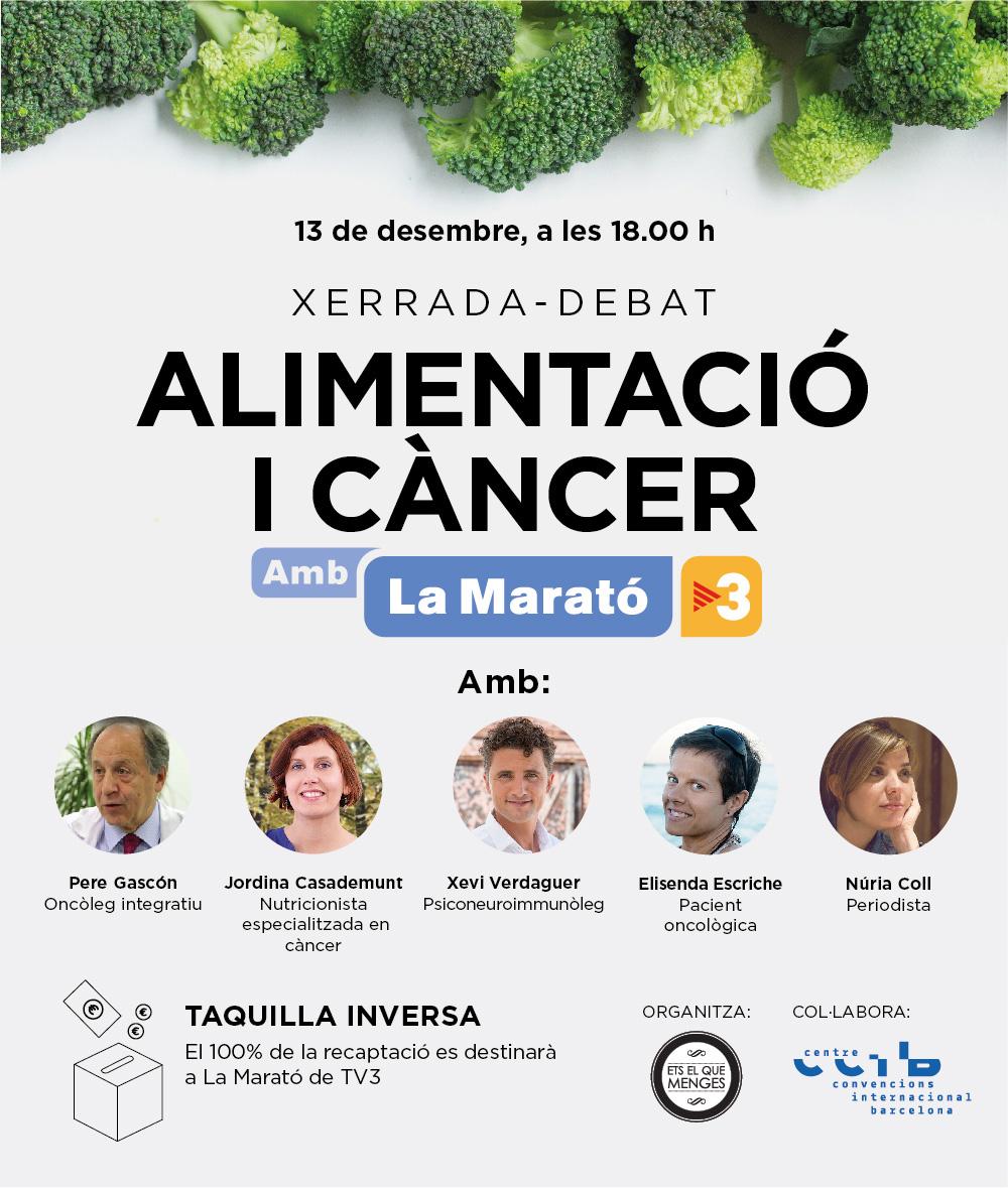 Xerrada-debat Alimentació i càncer