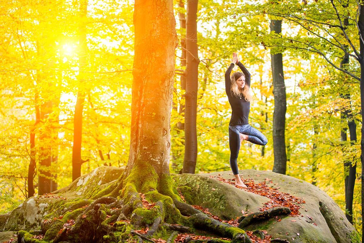 El ioga i la natura són eines potents antiestrès