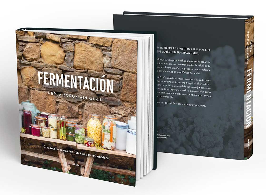"""Portada del llibre """"Fermentación"""" NErea"""