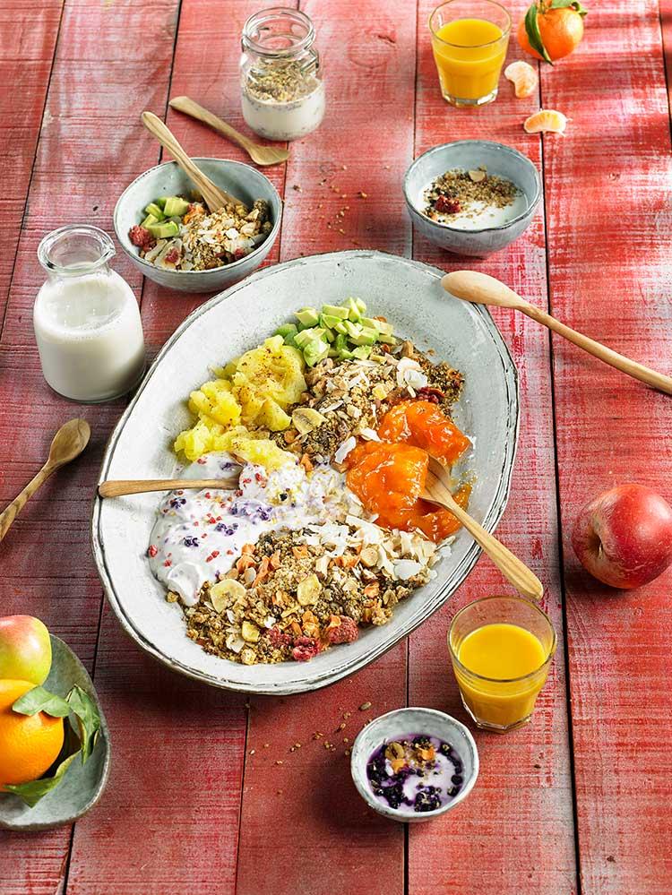 Recepta de quinoa crunch