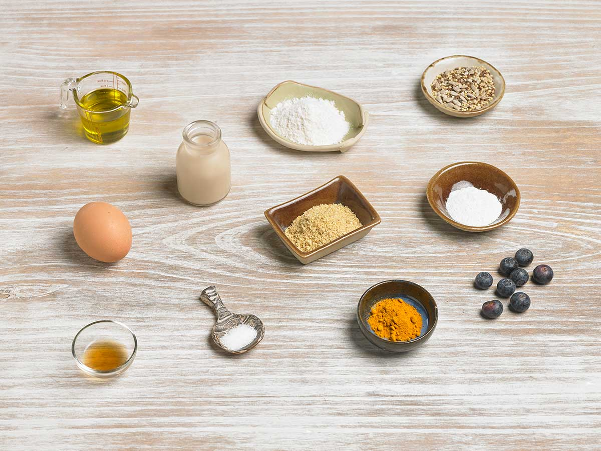 Ingredients pa de coco i lli