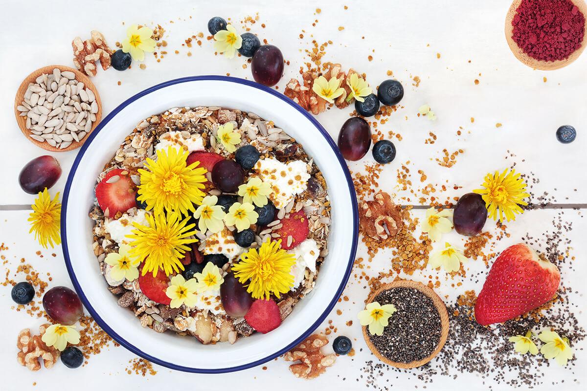 plat amb flors