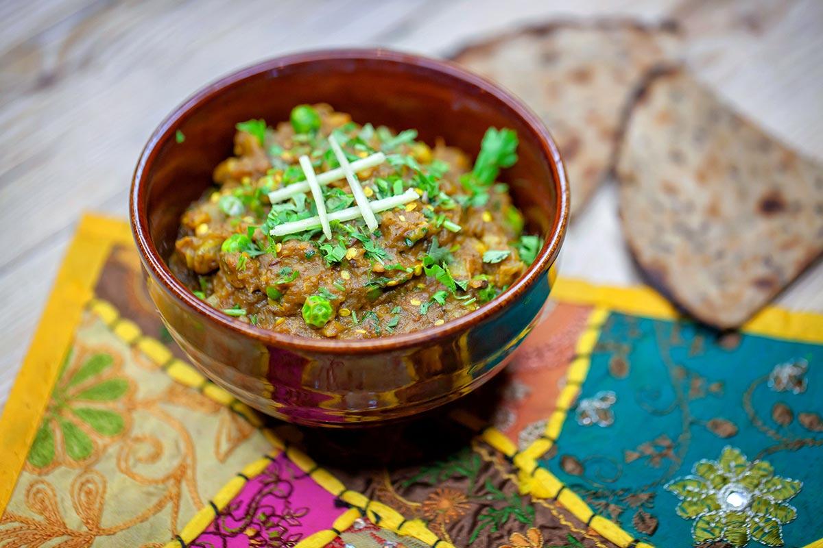 Alternativa vegana a la proteïna del restaurant Rangoli