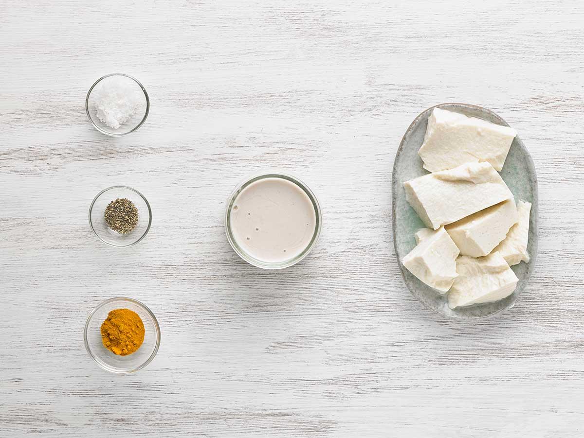 Recepta migas cremoses de tofu