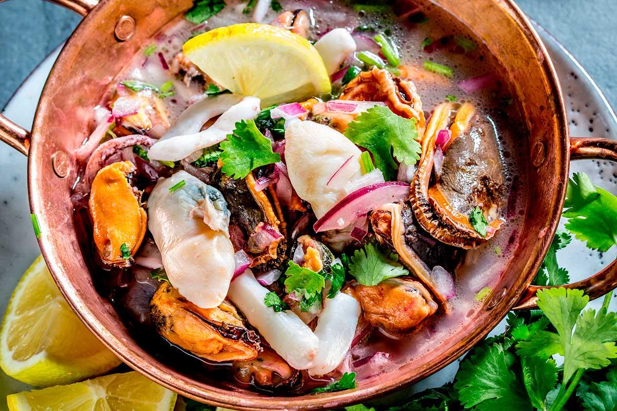 El ceviche, una tècnica de marinada de peix