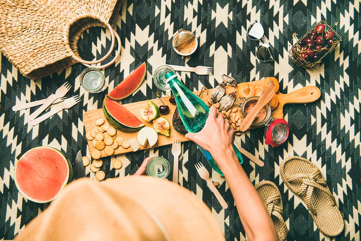 Idees per a fer un pícnic vegà