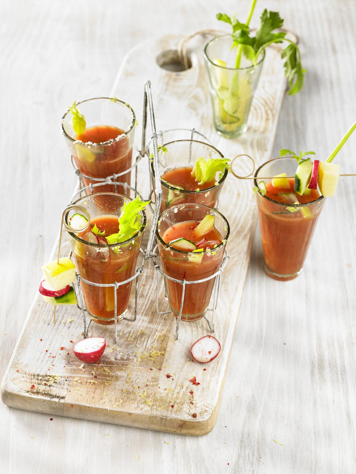 Bloody Mary saludable