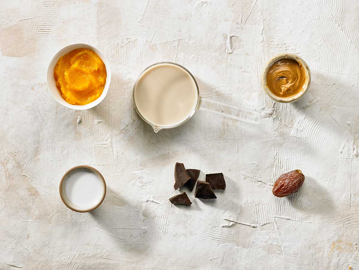 Ingredients Parfait carabassa i xocolata