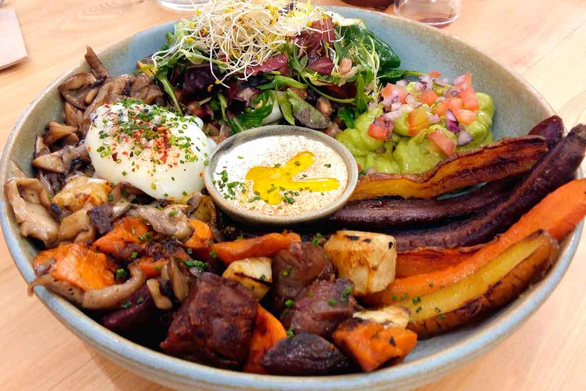 Bowl saludable restaurant barcelona Odacova
